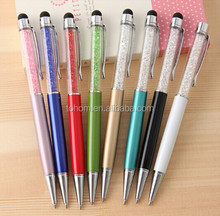 High quality custom logo promotional screen touch metal stylus pen