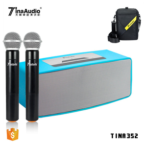 2018 lightweight portable pa system wireless portable voice amplifier portable public address system