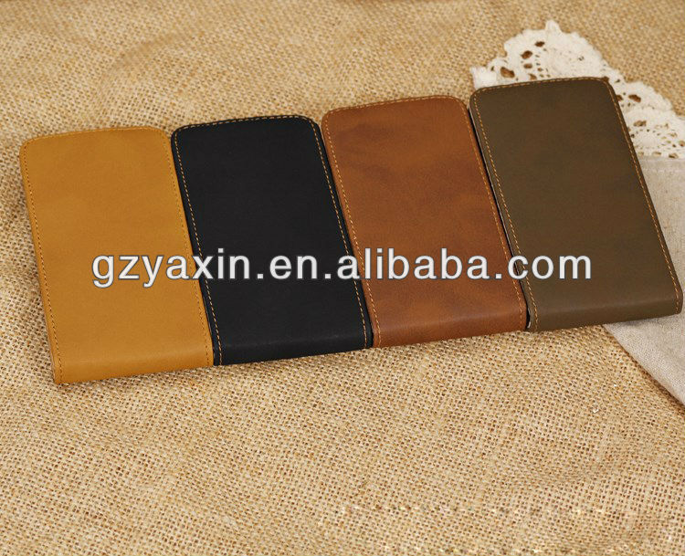 New Stylish PU Leather Flip Wallet Case Cover for IPhone5C,for iphone5c case .