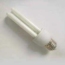 2U shape CFL 5W pure white fluorecsent bulbs 220-240V E27