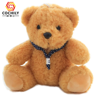 Factory supply High Quality stuffed plush teddy bear with bow long plush toys