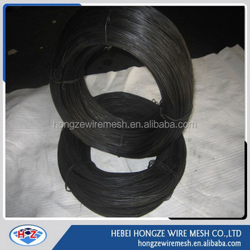 coil iron wire wire nail making machine raw material hard black wire for manufacture nails
