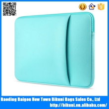 Waterproof neoprene material 11inch - 15 inch laptop sleeve for wholesale