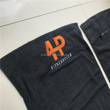 Small MOQ gym towel with customer logo