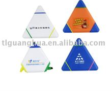 Triangle shaped mini highlighter(BP-4189)
