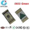 Red and green dual color smd led 0603