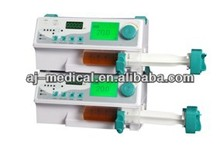 Medical Stackable Syringe Pump with Drug Library & Infusion Record