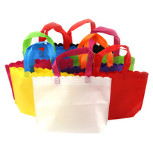 wholesale factory nonwoven Packing tote bags / Fashion woven carry bag