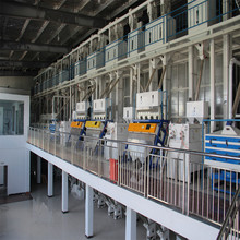 ACME parboiled rice processing line