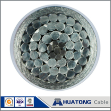 Galvanized steel wire reinforced cable ASTM B232 ACSR Conductor Finch