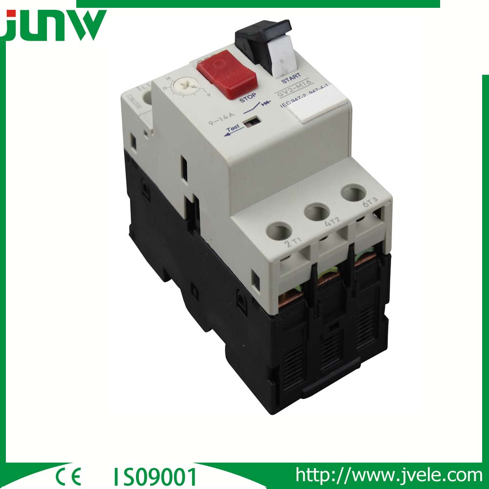 GV2 and GV3 motor protection circuit breaker,thermally protected motor,motor protection switch