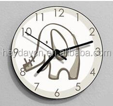 Elephant Wall Clock - Kids Nursery Room,Teens Room - Wall Clock