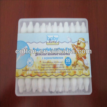 new baby cotton tips (55pcs cotton tips)