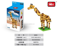 COGO NANO Cheap Building Blocks toys DIY Animal Giraffe good for promotion 170PCS Toys for Kids Easy to Build