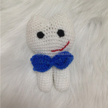 crochet tooth fairy with pocket
