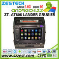 ZESTECH 8'' pure android 4.2 car dvd for toyota Land Cruiser with With A9 CHIPSET DUAL CORE 1080P WIFI 3G
