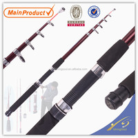 TSR008 10', chinese fishing tackle china fishing gear tele spin glass fishing rod tele spin pole