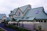 precision and beautiful copper colored metal roof