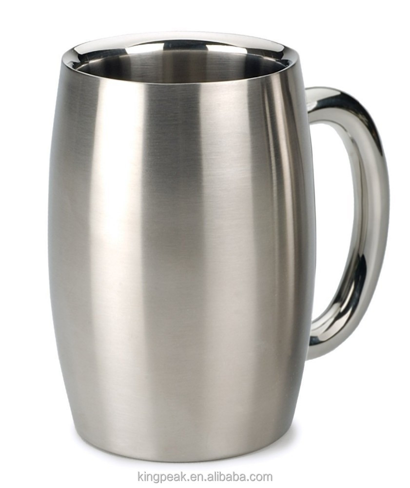 2015 new product international endurance stainless steel double walled beer mug stainless steel. Black Bedroom Furniture Sets. Home Design Ideas