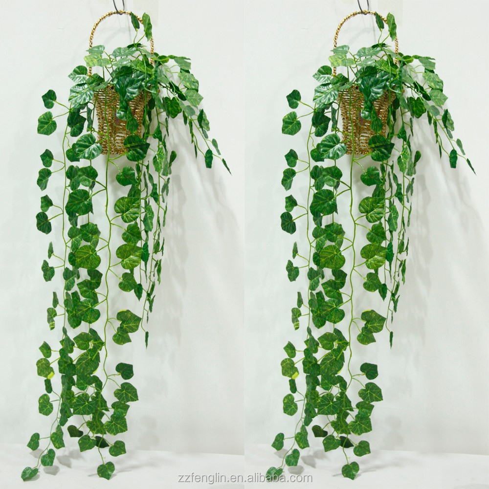 cheap fake grapes ivy leaves wholesale indoor wall decorative artificial ivy leaves vine marking