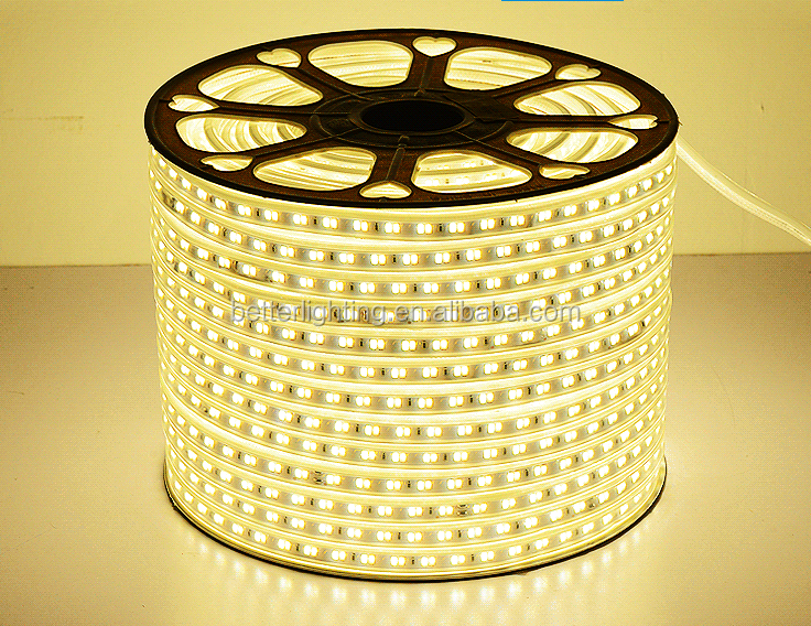 220volt LED cool white color/RGB/warm white/ led 5730 120leds 100/rollm flexible led strip ip65 waterproof