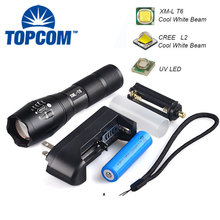 XM-L T6 Cre Led Flashlight Torch, G700 Tactical Flashlight 1000 Lumens Led, High Power Led Torch Flashlight