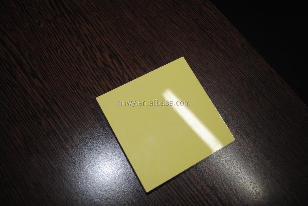 high gloss UV plastic sheet for cabinet