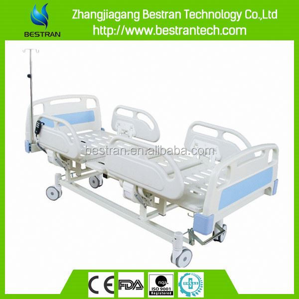 BT-AE102 3 motors CE ISO approved adjustable patient emergency electric normal hospital bed