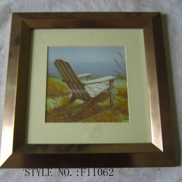 PS moulding decorative picture frame/paper picture frame