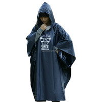 Top Quality Outdoor Adult Rain Ponchos Cute PVC Rain Coat Fashion For Women Custom Printed Rain Ponchos