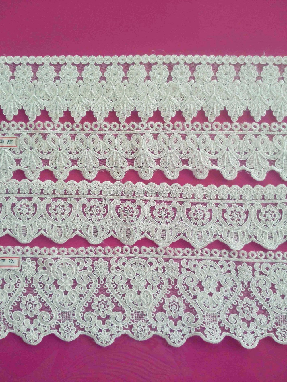Guipure Lace fabric 2015/Trustwin Sequins Lace