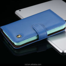 Leather Wallet Case For Samsung Note I9220 Mobile Phone Cover For Galaxy Note N7000 Crown Cases For Galaxy N7000 RCD02007