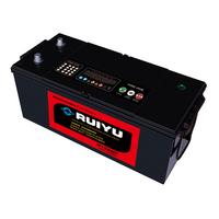long life low price 165ah 12v jis delco batteri mf lead acid heavy duty truck/auto car battery