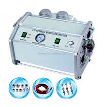 manufacturer wholesale 2in1 diamond and crystal microdermabrasion machine