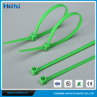 Haitai China All Colors Self-Lock Fireproof Anti Acid&Erosion Nylon Cable Tie Zip Ties