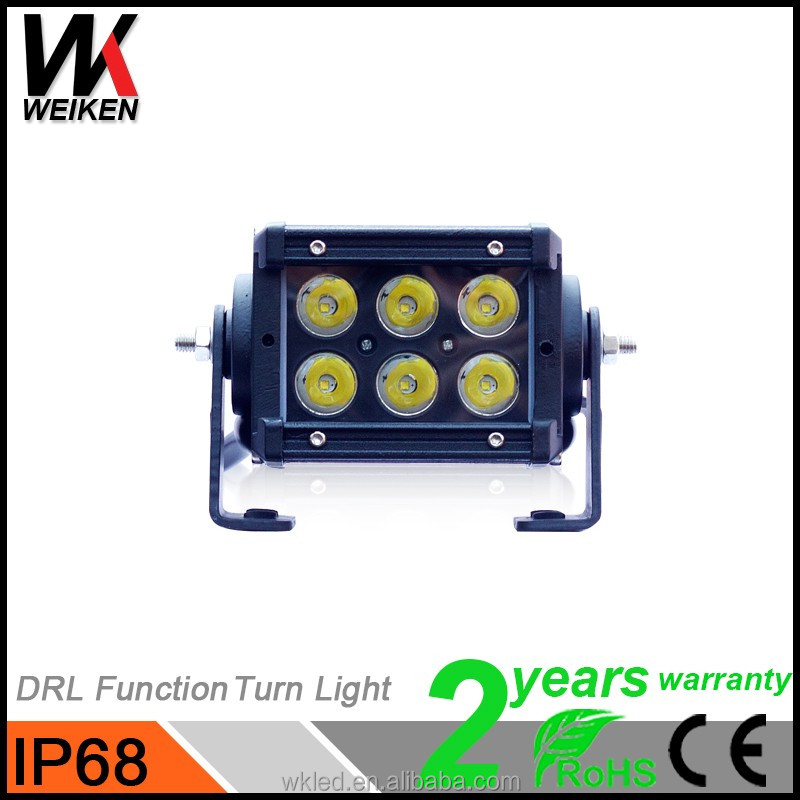 New Products 18w mini led lightbar 12 volt 24volt Offroad Automobiles & Motorcycles Spare Parts Aluminum Housing Led Light Bar