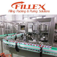 Aluminium Can Filling Line for Aerated Drink