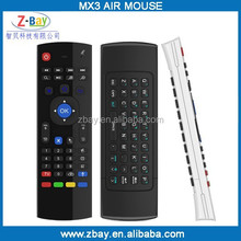 hot selling 2.4g wireless universal remote control for tv box smart tv