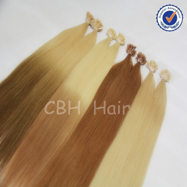 100% human hair super quality keratin hair