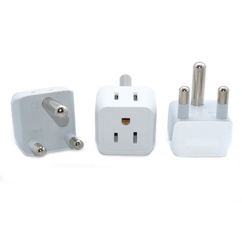 Dual Voltage Devices Ceptics World Travel Adapter Kit US Outlets Plug for Europe