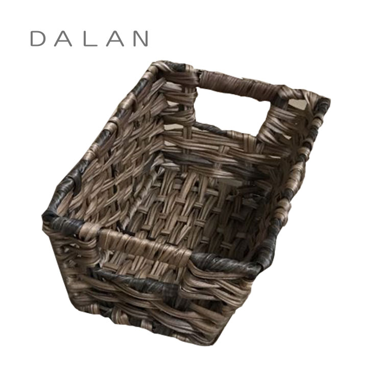 mini cheap plastic storage basket for bathroom