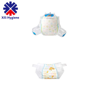 Disposable Diaper Adult Baby Girls In Diapers Manufacturer In China