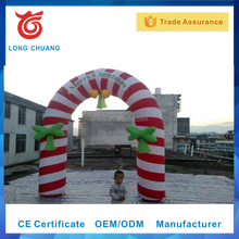 Professional manufacturer inflatable entrance arch, decorative Christmas arches, inflatable Christmas arch
