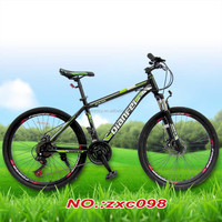 "Custom adult bike mountain bike 26"" double disc brake moutain bicycle"
