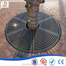 Ductile iron casting tree grating