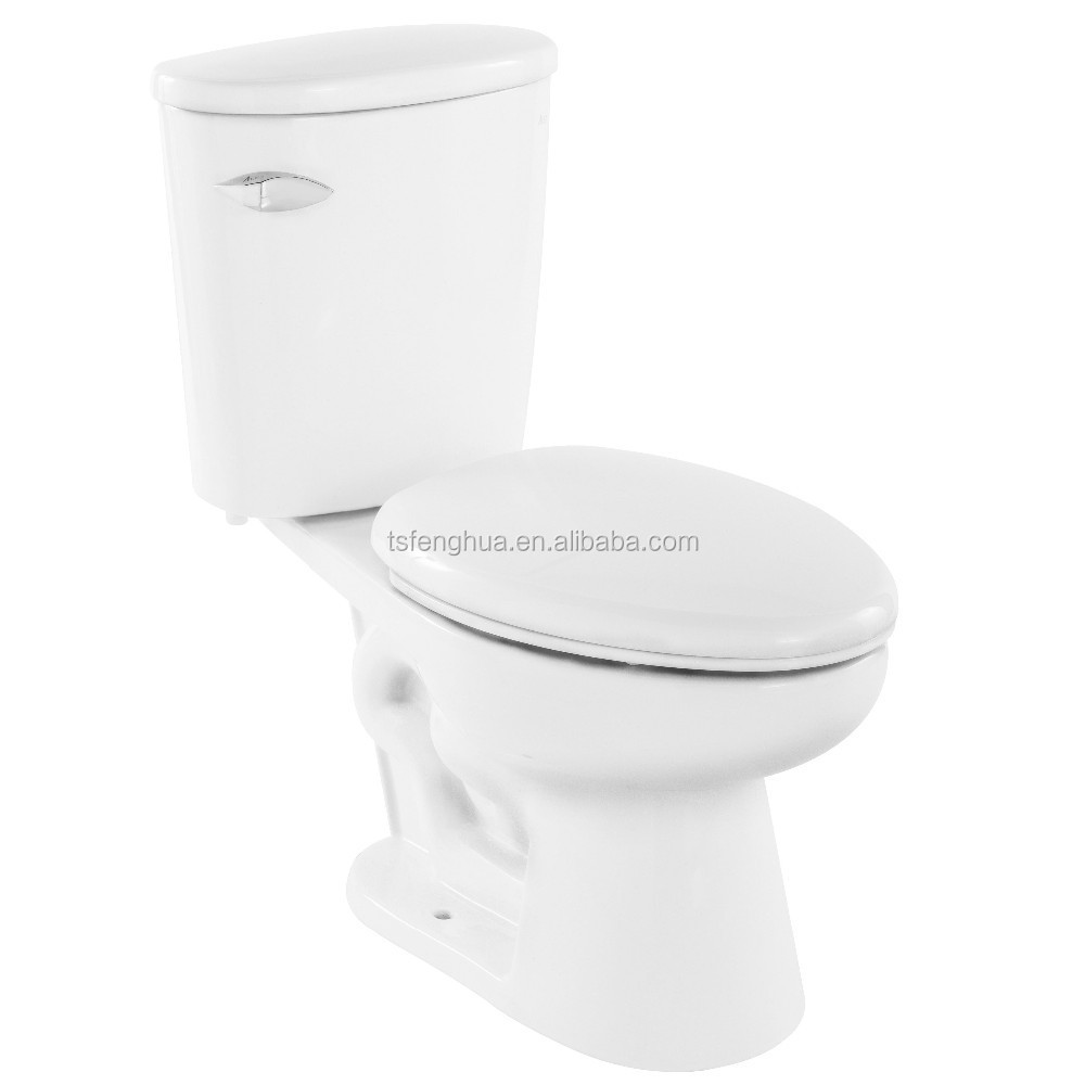 FH3704 Siphonic Close-coupled Two Piece Toilet Sanitary Ware Ceramics Bathroom Design