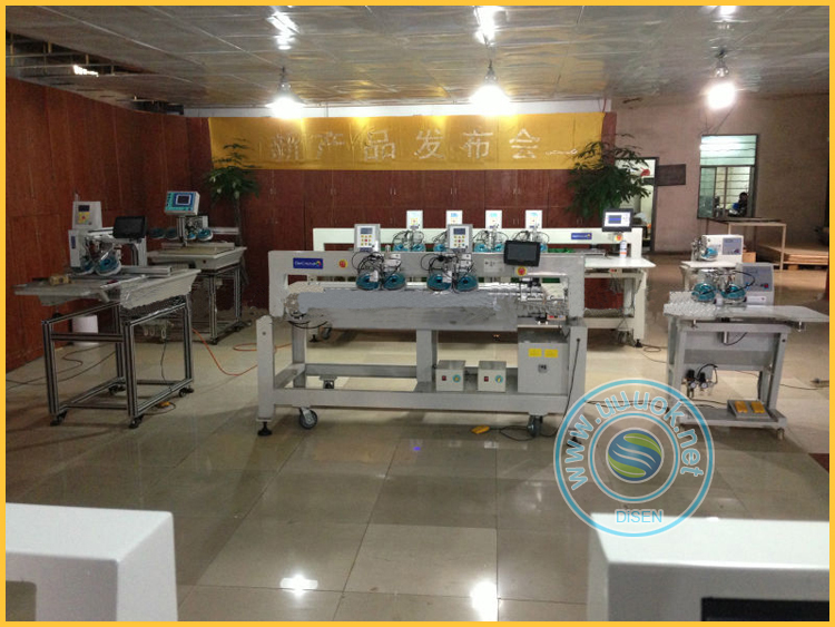 Factory outlet multiple languages high speed automatic beads pearl fixing machine