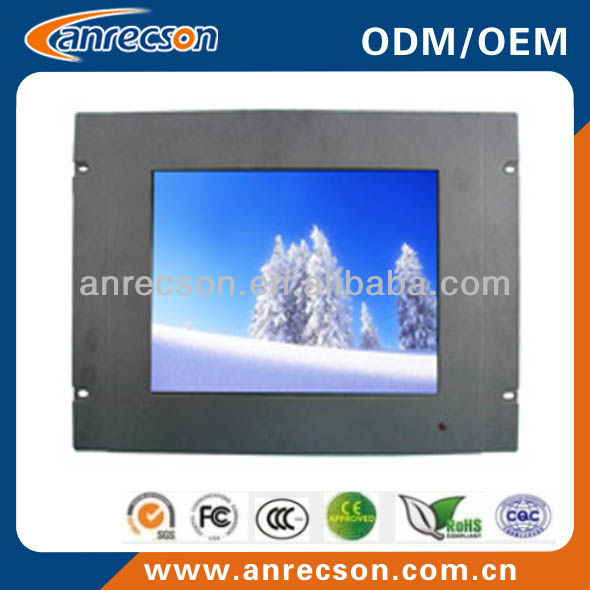 17 inch Industrial Racked Mount LCD Monitor