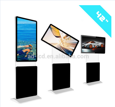 43 inch rotatable touch android digital signage kiosk Commercial display advertising touch screen monitor