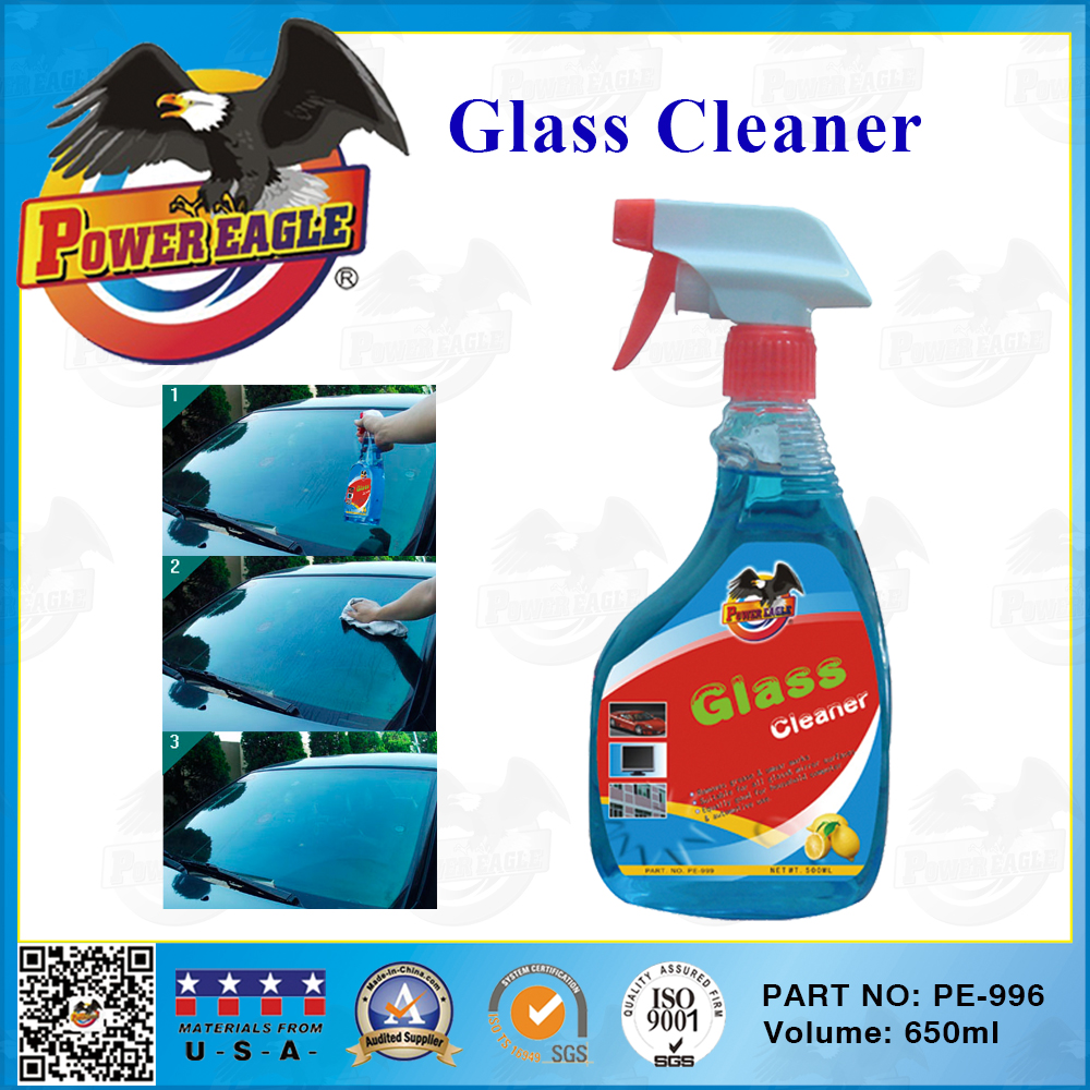 Car Glass Cleaner With Spray